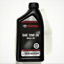 Toyota SAE 10W-30 Motor Oil