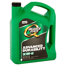 Quaker State Advanced Durability SAE 10W-40
